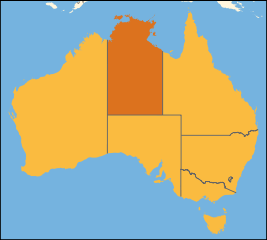 Australia location Northern Territory