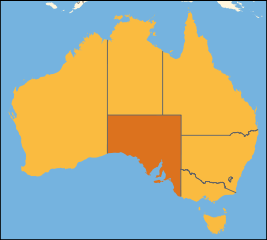 Australia location South Australia
