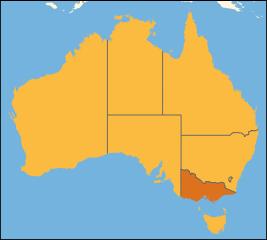Australia location Victoria