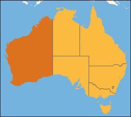 Australia location Western Australia
