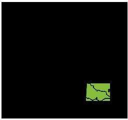 Map of Australia highlighting Victoria