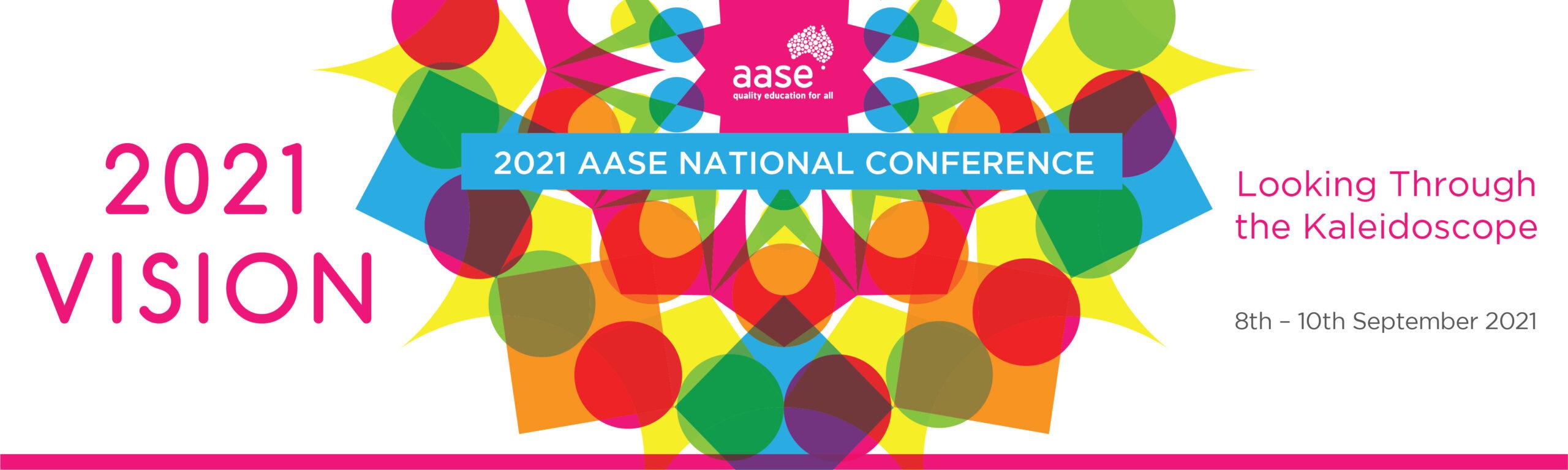 2021 AASE Conference Banner